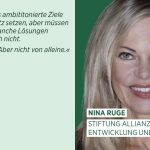 World Earth Day – Nina Ruge engagiert fürs Klima
